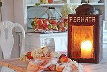 Syksyisiä sisustusideoita Autumndecorations