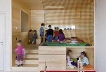 School spaces / wnętrza szkolne / Inspirujące szkolne wnętrza Inspiring school spaces