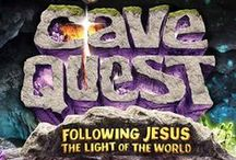 Cave Quest VBS 2016 / Ideas & products that are inspiring us for Group's Cave Quest VBS.