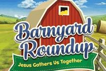 Barnyard Roundup VBS 2016 / Ideas and DIY Inspirations for your farm-themed VBS, use with Barnyard Roundup or Cow-a-bunga Farm VBS