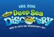 Deep Sea Discovery VBS 2016 / DIY ideas and inspiration to make Deep Sea Discovery VBS come to life at your church! / by ConcordiaSupply.com