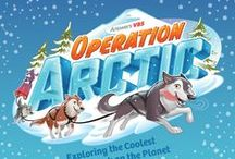 Operation Arctic VBS 2017 / Ideas for VBS snacks, decor, crafts and cute inspirations for Operation Arctic VBS 2017 by Answers