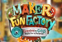 Maker Fun Factory VBS 2017 / Creative ideas for planning Group's Maker Fun Factory VBS 2017