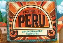 Passport to Peru VBS 2017 / Creative ideas and DIY inspirations for Group's Passport to Peru VBS 2017