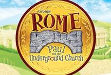 Rome Holyland Adventure VBS 2017 / Decorating, snack and activity ideas and resources for Rome VBS 2017
