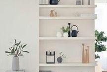 Interior shelving and display ideas