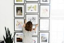 gallery picture walls