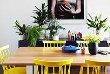 Yellow interior touches