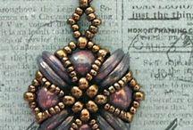 Korále - náušnice