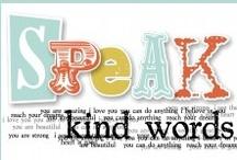 words & graphic design