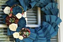 Craft ideas: Wreath / by Agnes van Eck