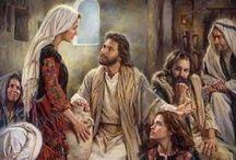 Catholic RE-Jesus:His Life/The Gospels / by Marybeth Elizabeth