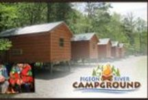 Pigeon River Campground / Step away from the hustle and bustle of everyday life and step into a peaceful camping retreat near the breathtaking Great Smoky Mountains National Park.