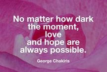 Hopeful Quotes / Quotes about hope / by CathyTaughinbaugh.com