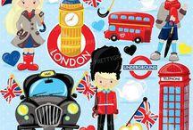 Inglese London and United Kingdom