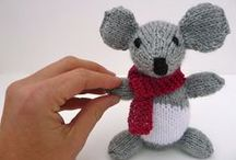 Handmade toys / handmade toy delight for adults and kids. Made of yarn, wood, paper...