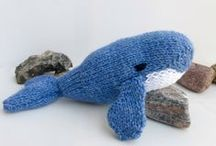 Toy Knitting Patterns / Cute, cuddly and inspiring Knitting Patterns
