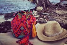Mochila's are forever / A board inspired by our new Mochila bags handwoven by Columbian tribes!