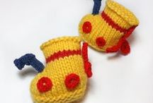 Cute Knitting for Babies / All the cute tiny baby knitting patterns...