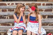 Red White and Bike Collection / Go back in time with our vintage-inspired summer collection!