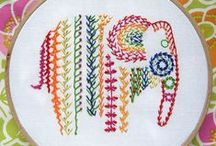 Embroidery Art / Exquisite works with needle, thread and color
