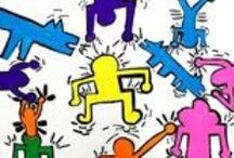Keith Haring Inspired Art Lessons / by Artsonia - Kid's Art Museum, Art Education Resource and Personalized Gifts