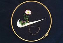 embroidery on clothing