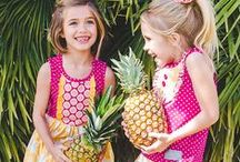 Hawaiian Punch / With a punch of pink and a squeeze of orange our Hawaiian Punch collection is tropical, fun, and beach-ready.