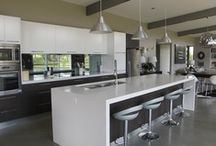 Contemporary Kitchens / Clean, open interiors are the primary characteristics of popular contemporary kitchen design. Efficient space planning, an open floor plan, modern appliances and strict adherence to minimalist design are the supporting characteristics that distinguish a contemporary kitchen from others.