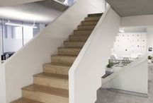 GoKo : Map II (Offices) / Map II, project designed and built by our firma GoKo for marketing offices connecting 4 levels through a main internal staircase.