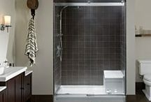 Bathroom Design Ideas / Design and decorating ideas to make your bathroom more usable and beautiful.