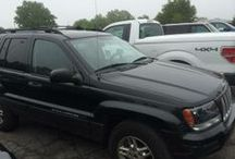 Used 2004 Jeep Grand Cherokee for Sale ($7,000) at Hickory, NC / Make:  Jeep. Model:  Grand Cherokee, Year:  2004, Exterior Color: Black, Interior Color: Black, Doors: Four Door,  Vehicle Condition: Excellent, Mileage:180,000 mi, Engine: 6 Cylinder, Transmission: Automatic, Fuel: Gasoline, Drivetrain: 4 wheel drive, Power WindowsTinted Glass.   Contact: 828-308-4133   Car Id (57214)