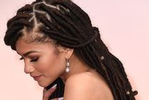 BRAIDS, TWISTS & LOCS / Beautiful braids, twists and locs.  Protective styling at its best.