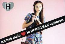HEIDELBAG - Taschen mit Herz! Und Verstand. / HEIDELBAGs sind außergewöhnliche, farbenfrohe Taschen aus Heidelberg. Jede Tasche ein Einzelstück. Jede Tasche zum Verlieben. Taschen mit Herz! Und Verstand.