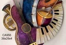 Music-themed Art / Music themed art