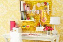 Scrap Room / Scrap Room Organization, Inspiration,DIY