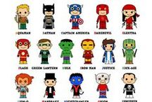 Superheroes ^^ / Yeah... ordinary girl in love with comics and superheroes...