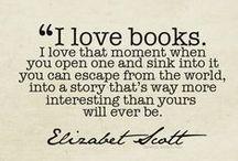 Paixão por livros / Books, quotes about books, writers, girl reading, library