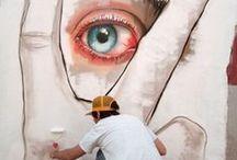Street art / Graffiti, photographie, sculpture, expositions dans la jungle/ville