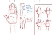 Technique de dessin & anatomie / Ressource pour dessin papier ou web d'anatomie, de colorisation, de perspective, bla bla bla