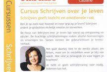 ● Schrijven Werkt ! ● / De methode Schrijven Werkt! helpt bij het verwerken van moeilijke levensgebeurtenissen. www.schrijvenwerkt.nl
