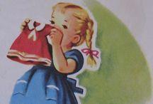 Vintage Printables Kids