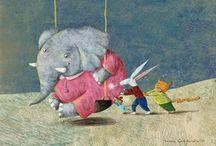 Elephants Illustrations /Art