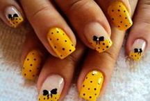 Nailed It / Love me funky nails / by MJ Kosisher