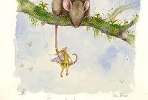 Mouses and Friends/ Muizen en Vrienden