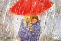 Rainy Day Art/Illustraties