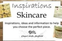 SKINCARE AND BEAUTY inspirations / Advice, information and ideas including some for using skincare products available at Bird's Yard.