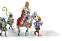 Sinterklaas & Piet / Ik heb als kind en nu ook trouwens nog erg genoten van het Sinterklaasfeest. Laat Sint en Piet alsjeblieft zichzelf blijven!!