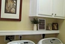 Hallway or laundry room / Laundry washer dyer Hallway or laundry room hallways garage