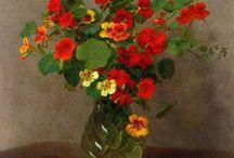 bloemen in vaas of pot